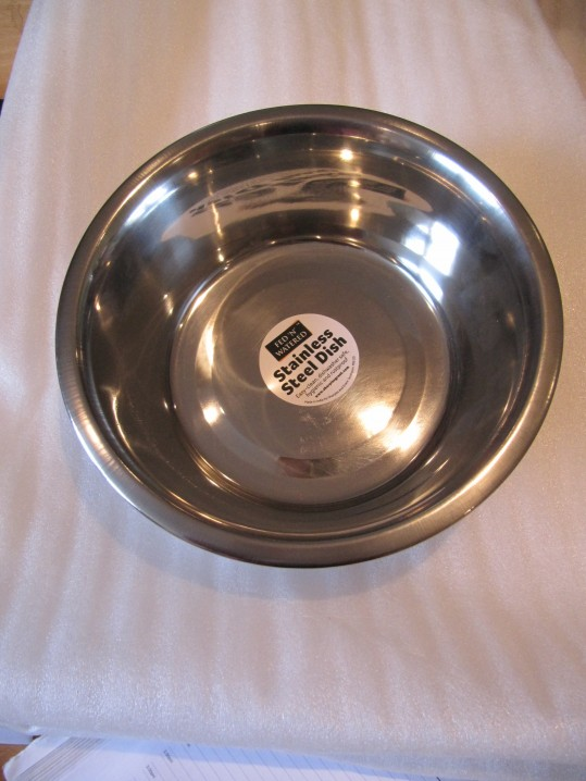 Stainless Steel Bowl 21cm