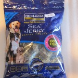 Fish 4 Dogs Sea Jerky Squares 100gm
